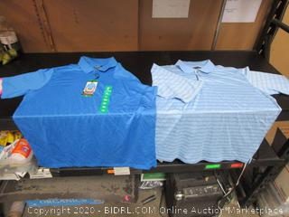 Mens Polo Shirts Pebble Beach, Bolle XL