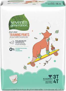 Seventh Generation Baby & Toddler Training Pants, Large Size 3T-4T, 88 count (online $47)