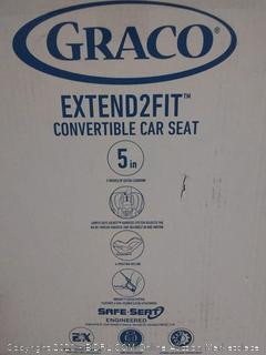 Graco extended 2 fit convertible car seat (online $151)