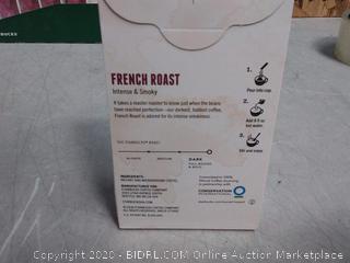 Starbucks VIA Instant French Roast Dark Roast Coffee 12pck