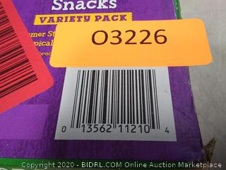Annies Organic Bunny Fruit Snacks, Variety Pack 24 Pouches
