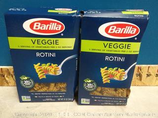 Barilla Veggie Rotini Pasta 12pck