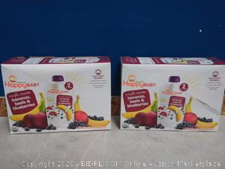 Happy Baby Organic Baby Food Stage 2 16ct