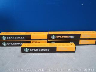 Starbucks Blonde Espresso by Nespresso 5 sleeves