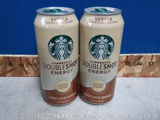 Starbucks vanilla double-shot 12pck