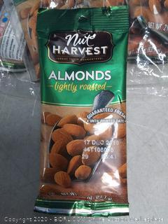 Nut Harvest Almonds Premium 2.25 oz 8pck