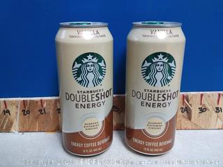 Starbucks DoubleShot Energy + Coffee Vanilla 12pck