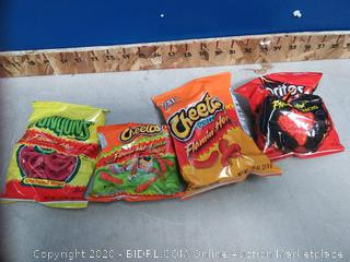 Frito-Lay Flamin' Hot Mix Variety Pack 40ct