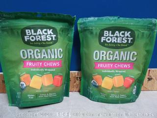 Black Forest USDA Organic Fruity Chews Candy Candies 6pck