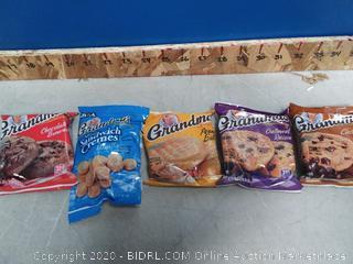grandma's cookies 30 count variety pack