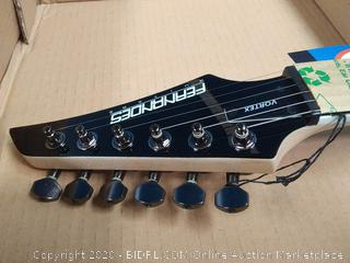 Fernandes Vortex X Electric Guitar - Black (online $386)