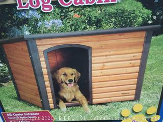 "Precision Pet Log Cabin Large 45.5"" x 33"" x 33"" (online $116)"