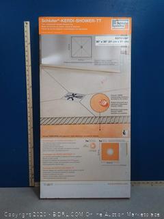 "Schluter KERDI-SHOWER-TT - 36"" x 36"" - Thin Shower Tray (online $91)"