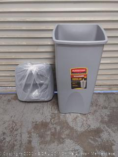 Rubbermaid Untouchable container and lid combo (online $90)