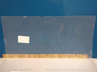 "Duralens Premium Grade Lighting Panel, 23-3/4"" W x 47-3/4"" (Cracked) Pack Of 6 (online $30 each!)"