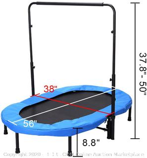 Fashionsport OUTFITTERS Mini Trampoline, Parent-Child Trampoline for Two Kids-Blue (online $73)