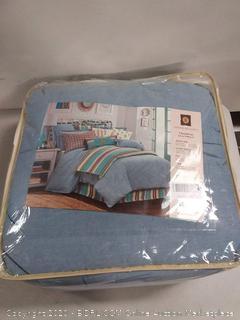 Chambray 3-PC Comforter Set, Pale Blue super Queen (online $173)