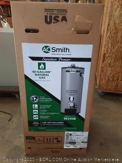 AO Smith 40 Gallon Short 12-Year 40,000 BTU Natural Gas Water Heater(New)(Retails $514)