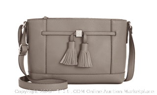 Giani Bernini Grey Pebble Tassel Crosbody(MSRP-$150)