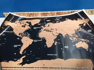 FreeLogics World Travel scratch map