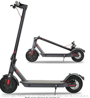 Jakko 6.5 inch electric scooter foldable 250 watt electric scooter Adult super light LED light (Online $329)