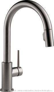 Delta Faucet 9159-KS-DST TRINSIC single handle pulldown kitchen faucet(Retails $437)
