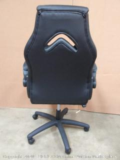 Office Essentials: OFM Essentials Collection High-Back Racing Style(Retails $119) (chair I)