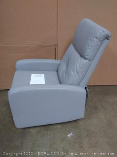 Serta Gray Leather Recliner Chair(Retails $299)