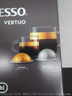 Nespresso Black Vertuo Espresso Machine (NEW)(Retails $139)