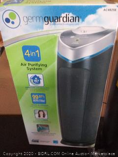 "GermGuardian 22"" Tower 4-in-1 Air Purifier with True HEPA Filter and UV-C Model AC4825DLX (Retail $119)"