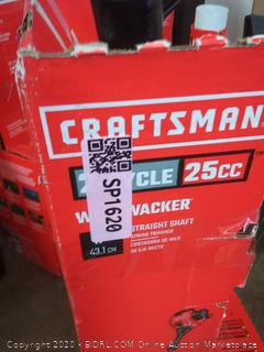 CRAFTSMAN WS210 25-cc 2-Cycle 17-in Straight Shaft Gas String (used)( untested)