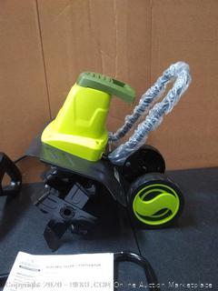 Sun Joe TJ604E 16-Inch 13.5 AMP Electric Garden Tiller/Cultivator (powers on)