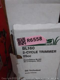 Bolens bl160 2-cycle trimmer(used)(untested)