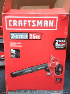 CRAFTSMAN B210 25-cc 2-Cycle 200-MPH Handheld Gas Leaf blower(needs new cord)