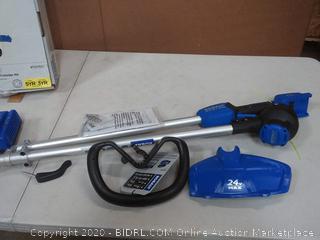 cordless string trimmer kit needs battery