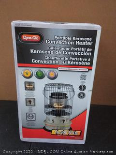 Dyna-Glo portable kerosene convection heater( Factory sealed)
