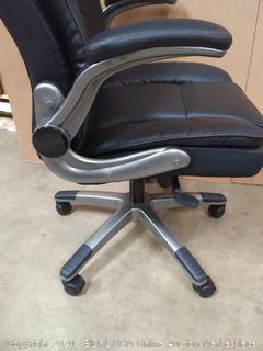 ergonomic office chair black (chair H)