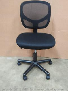 OFM Essentials Fabric Task Chair, Black