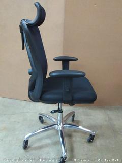 Duramont ergonomic adjustable office chair black(chair A)