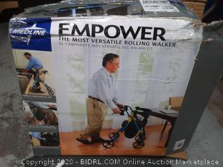 Medline empowered versatile rolling walker(tray cracked) online $129