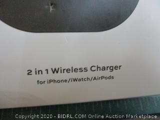 Miracase 2 in 1 Wireless Charger