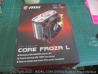 MSI CPU Cooler Core Frozr L