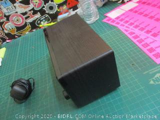 wooden Internet with DAB Radio