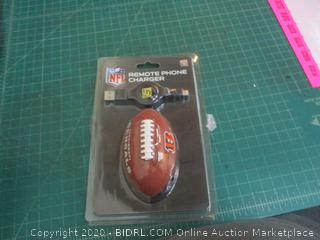 NFL Remote Phone Charger
