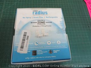 Thermacell radius  Zone Mosquito repellent