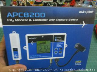 CO2 Monitor & Controller with Remote Sensor