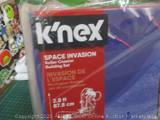 K'nex Thrill Rides Space Invasion