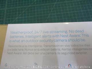 Nest Cam Outdoor 2 pack