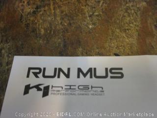 Run Mus Gaming Headset no box