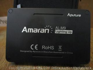 Aputure Amaran AL-M9 Lighting Up